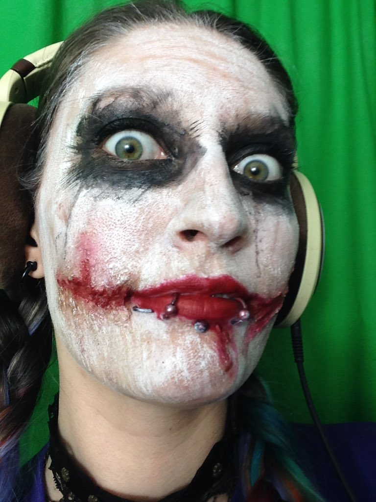 "prototyperaavyn on twitter: ""#joker #fx #makeup #halloween https://t"