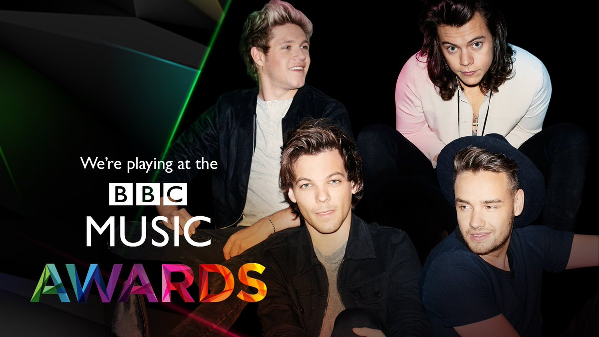 The guys are performing at the #BBCMusicAwards on 10th Dec in Birmingham! Get tickets here