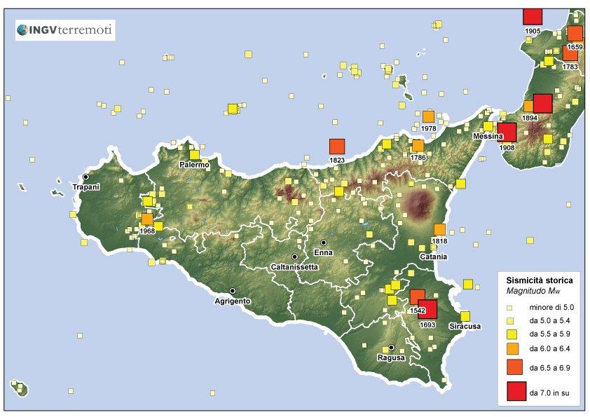 Terremoti Oggi di 104 anni fa: INGV ricorda il terribile sisma etneo del 15 ottobre 1911.