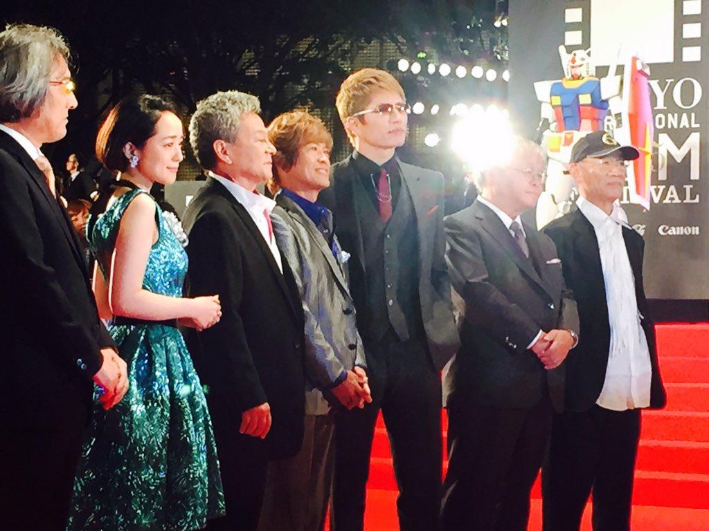 東京国際映画祭レッドカーペット 特集上映ガンダムとその世界より富野監督、古谷徹さん、藩めぐみさん、GACKT等。本レポではガンダムも登場かも?! 詳しいレポートは後日 https://t.co/5CzPMax1wu https://t.co/0ZQc72uVxW