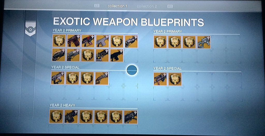 Guardiansunite on twitter what my exotic weapon blueprints looks guardiansunite on twitter what my exotic weapon blueprints looks like so far destiny exotics httpstgshbwx0qsf malvernweather Images