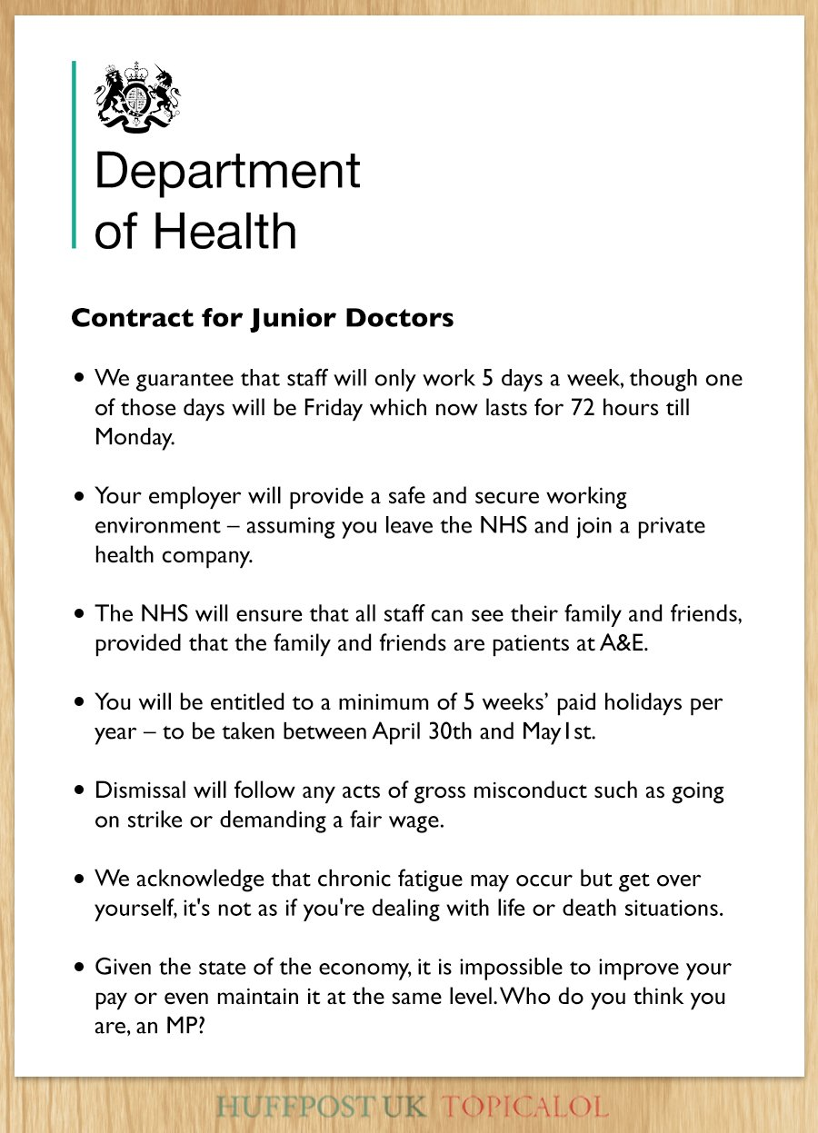 Can't believe #juniordoctors are striking given the generous new contract (by @RobinFlavell & me for @huffpostukcom) https://t.co/HYEF6Or8hv