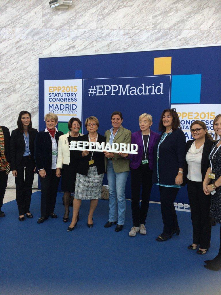 Also present @EPP congres Madrid #eppw #cdav <br>http://pic.twitter.com/URhB7Z4br9