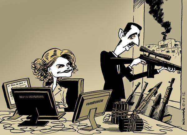 كاريكاتير الثورة السورية - صفحة 18 CR7UFEyWUAA6WNW