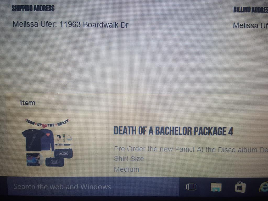 Panic At The Disco On Twitter Death Of A Bachelor Cd Bundles