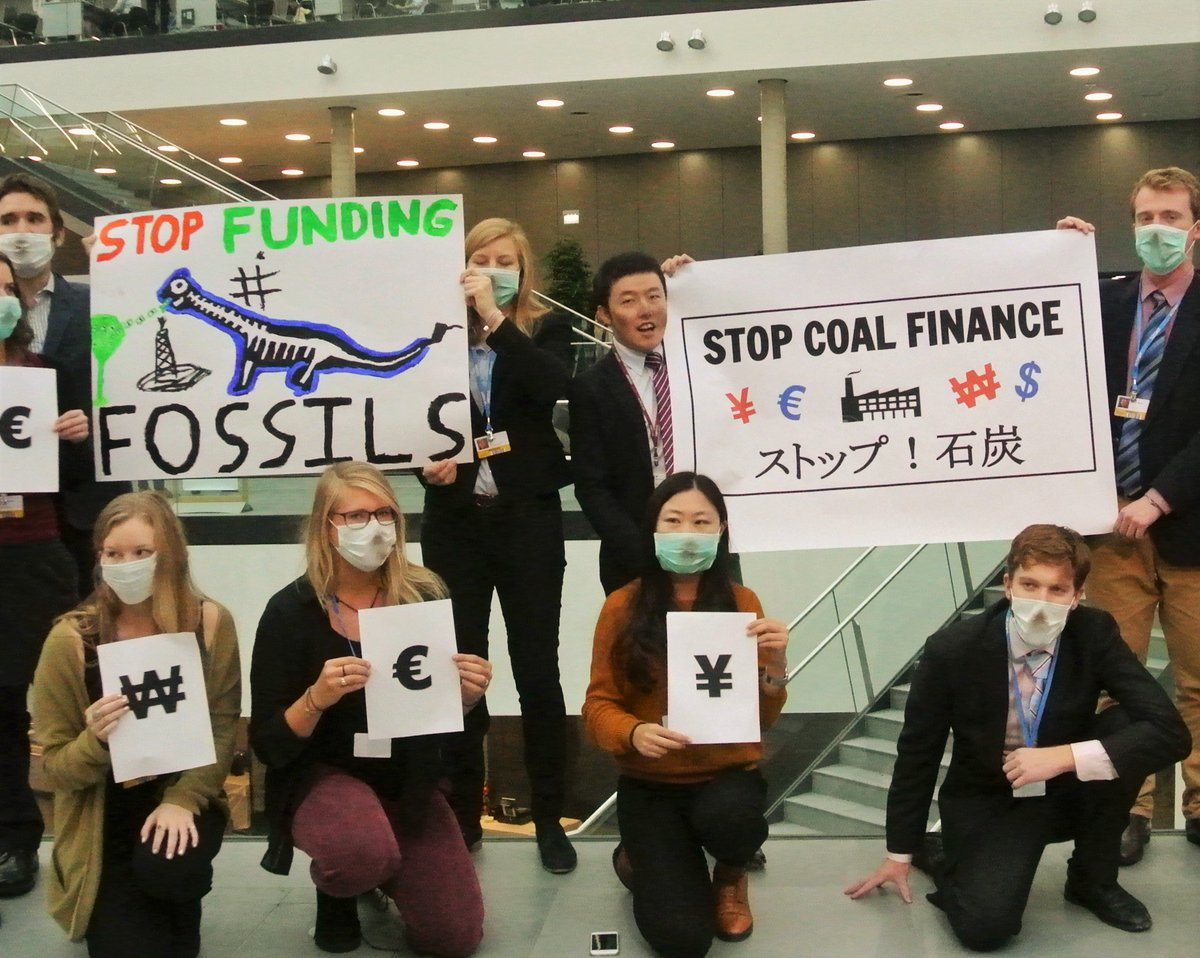 Japan's stuck in the past. Stop financing #coal; fund renewables instead @marukawatamayo. #StopFundingFossils #ADP2 https://t.co/Db6JGp7RcP