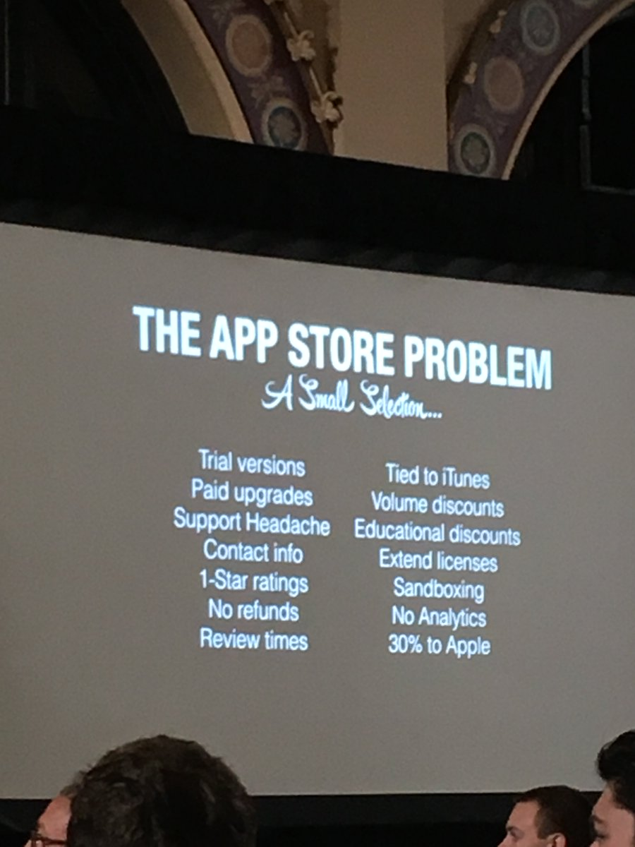 …and @pieteromvlee's Small Selection of App Store Problems is drawing a lot of laughs + nods. https://t.co/WbBddZIaUa