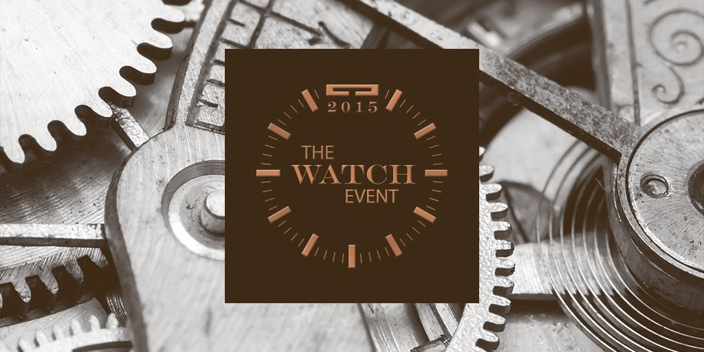 thewatchevent hashtag on Twitter