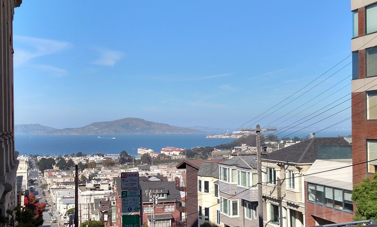 With a view like this how does anyone at @sacredheartsf get any work done? Thanks for a great visit. #meetdsonadmit https://t.co/ebogsyhIdo
