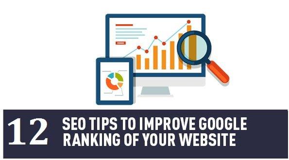 12 Tips to Improve Your SEO Ranking https://t.co/QuWAyaXmv7 #Marketing https://t.co/0tQ8PB84V4