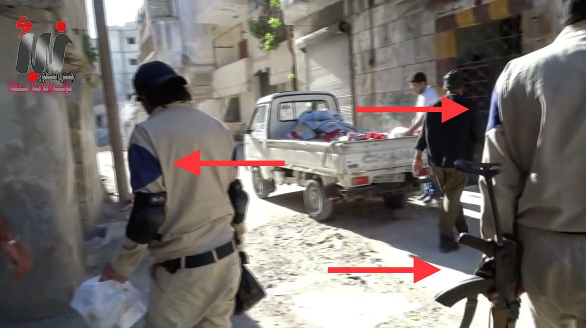 Resultado de imagen de white helmet al qaeda