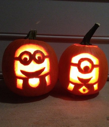 Clever Pumpkin Carving Ideas From Film Characters To Creepy Ghouls And Pretty Flowers Https
