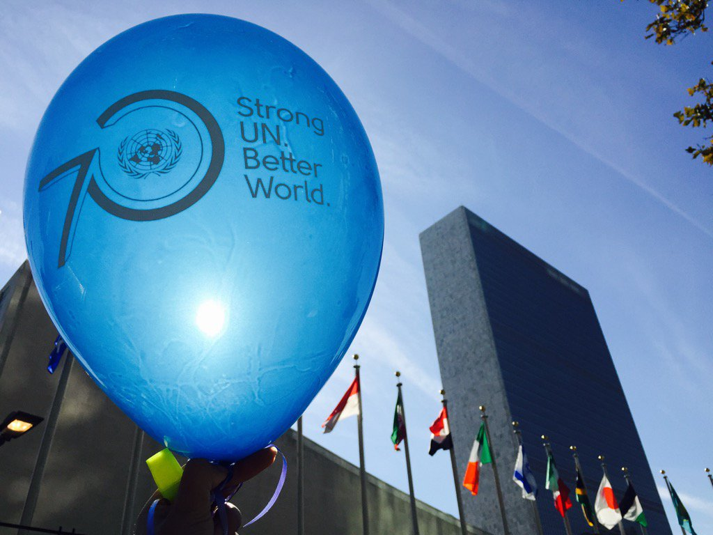 Thumbnail for The UN turns 70!