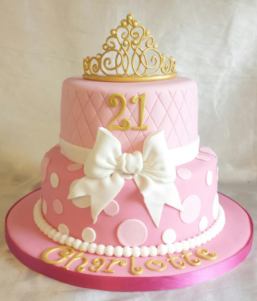 """Funky Cakes On Twitter: """"Princess Themed 21st Birthday"""