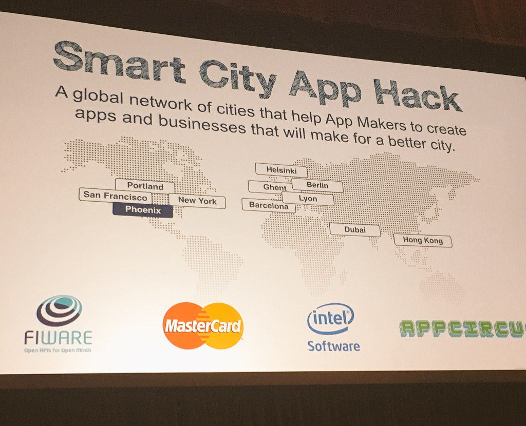 Great to see #Phoenix in the map for the Smart City App Hack #SCAH_PHOENIX #YesPHX https://t.co/q4WRjptYIx