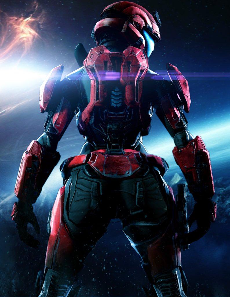 Halo 5 female spartan booty