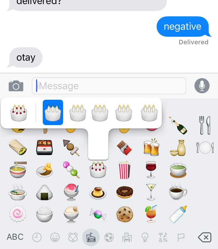 iOS 9.1 now has long press for dietary restrictions! Gluten free, lactose intolerant, vegan, pescetarian & Atkins. https://t.co/8xn2X5fE8h