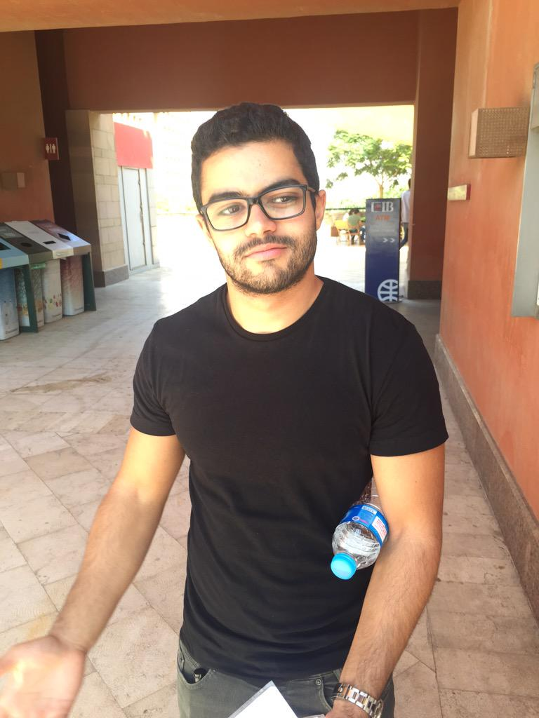 "Youssef Oraby, Senior, Economics major ""My favorite vender on campus is Cilantro."" #JRMC2202 #JRLWeb http://t.co/vfm9bxI5JC"