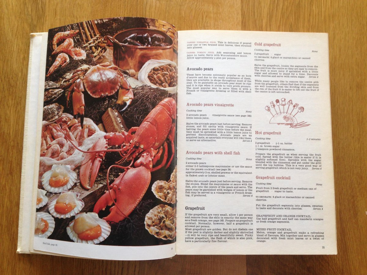 @grub_street @GuildFoodWriter My first, most treasured cookbook - Every Day Cookery. Love the lobster  #marguerite100 http://t.co/b1elfO3dhL