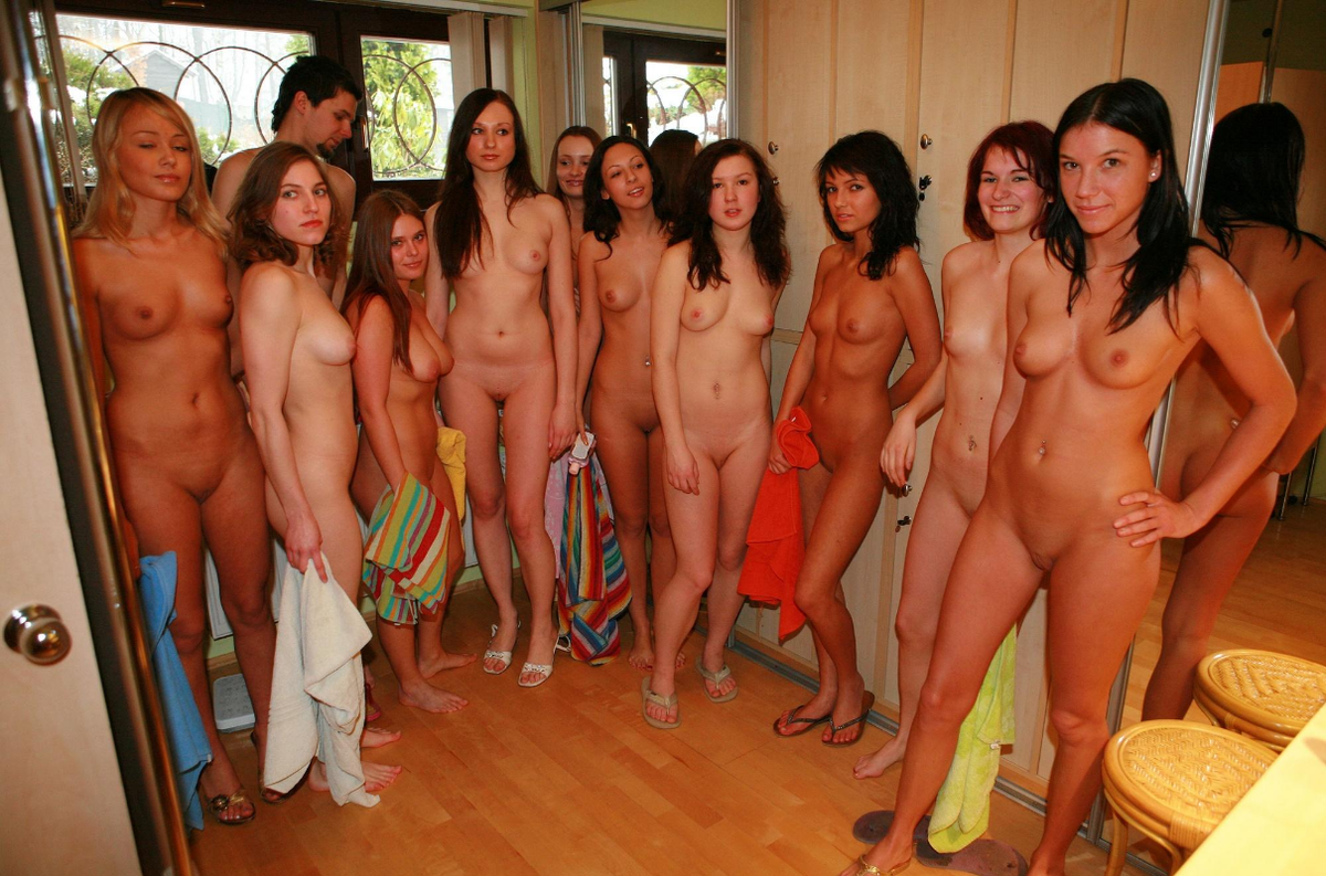 Nudists college party girls — 9
