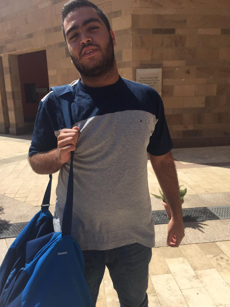 "Mohamed Mahmoud, 18, ""I'm a Lineman for the AUC Football Team, it's a fun and new experience."" #JRMC2202 #JRLWeb http://t.co/61ywTtEykz"