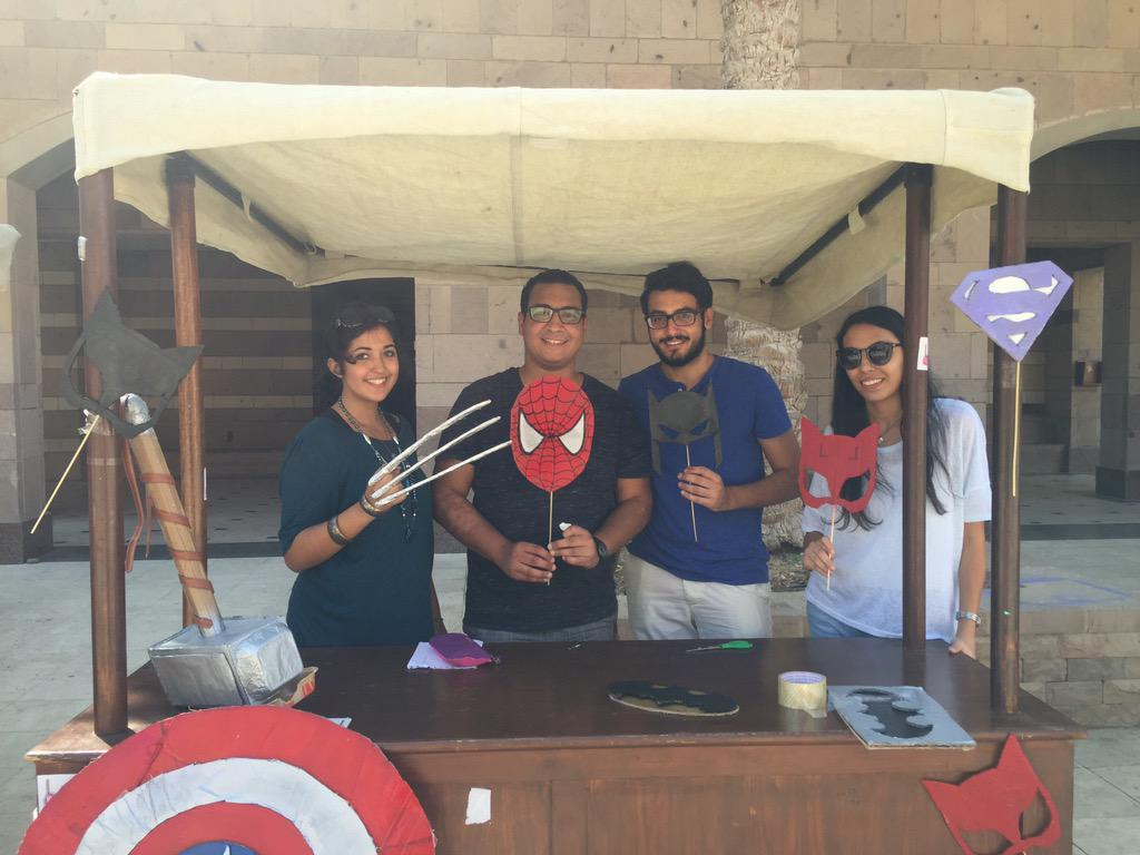 "AUC's Anti-Cancer Team, ""We are one of the 27 clubs available at AUC."" #JRMC2202 #JRLWeb http://t.co/xUtFwhByeM"