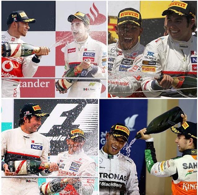 Checo siempre sube con Hamilton... http://t.co/f9uLpCqT04