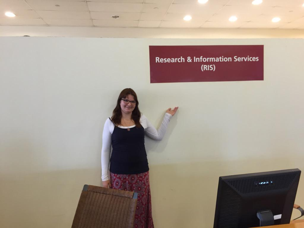 """The RIS can help find good sources for your research projects."" -Kathryn Vanderboll #JRMC2202 #JRLWeb http://t.co/41k4H4GoLn"