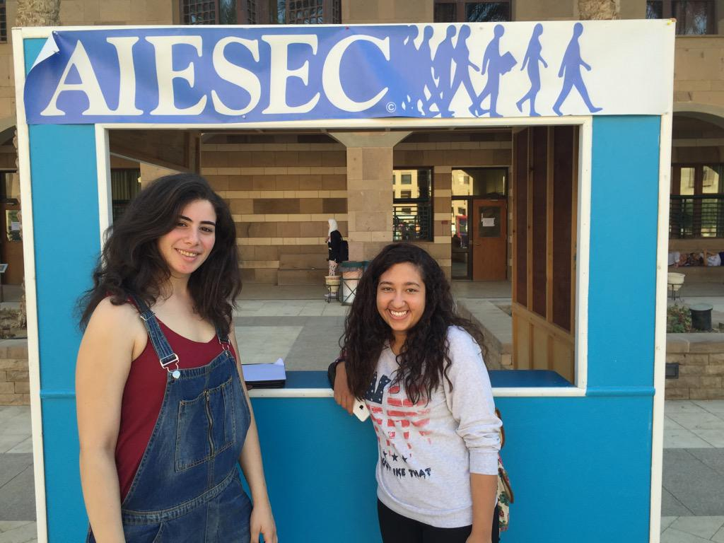 "AIESEC AUC members claim that ""AIESEC is the ultimate leadership experience."" #JRLWeb #JRMC2202 http://t.co/TUuQXXbv8X"