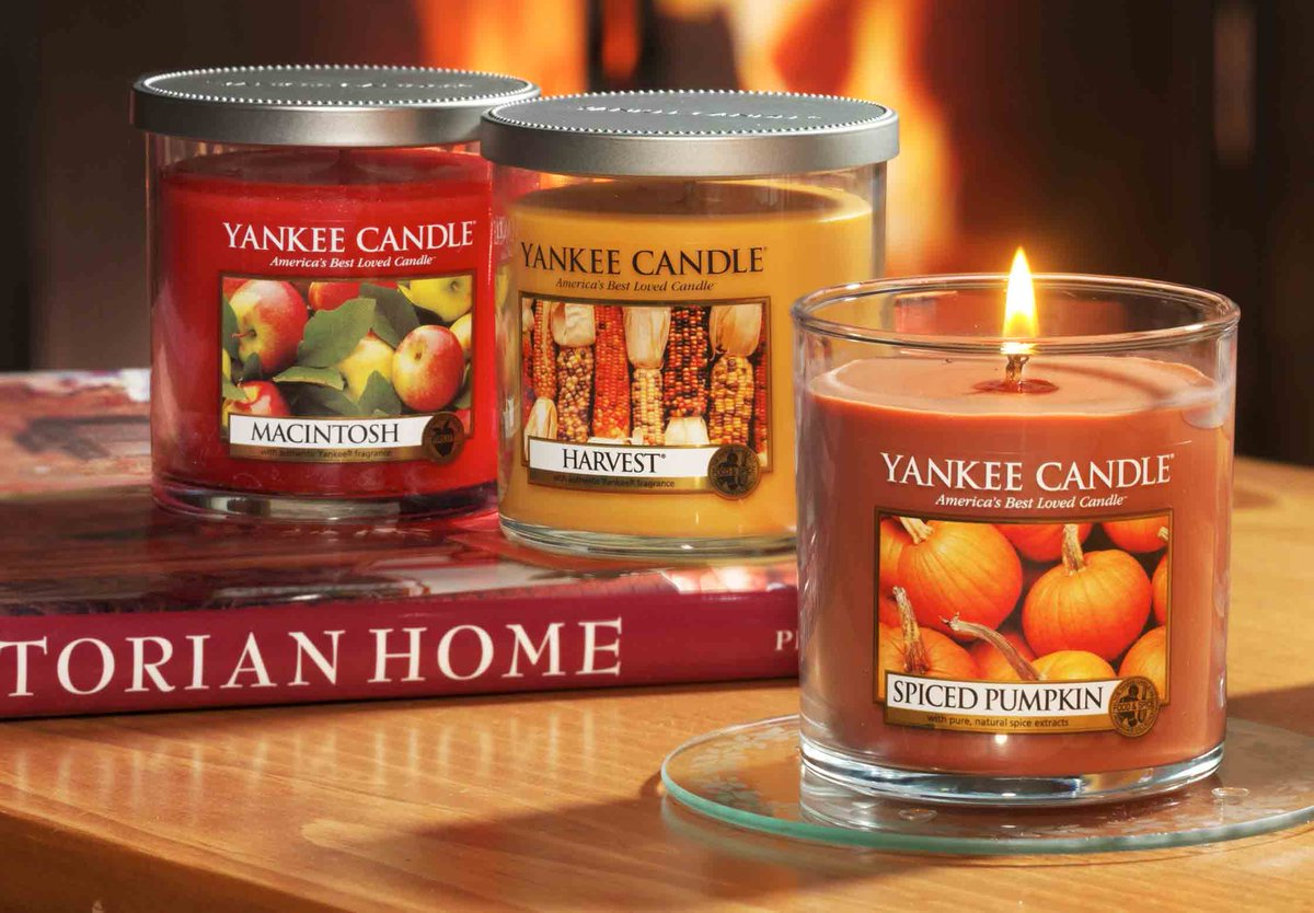 Image result for yankee candle small tumbler candles fall