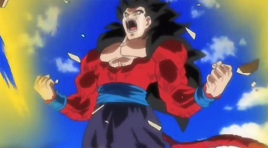 Db on twitter gohan super saiyan 4 dans dragon ball heroes http - Dragon ball gohan super saiyan 4 ...