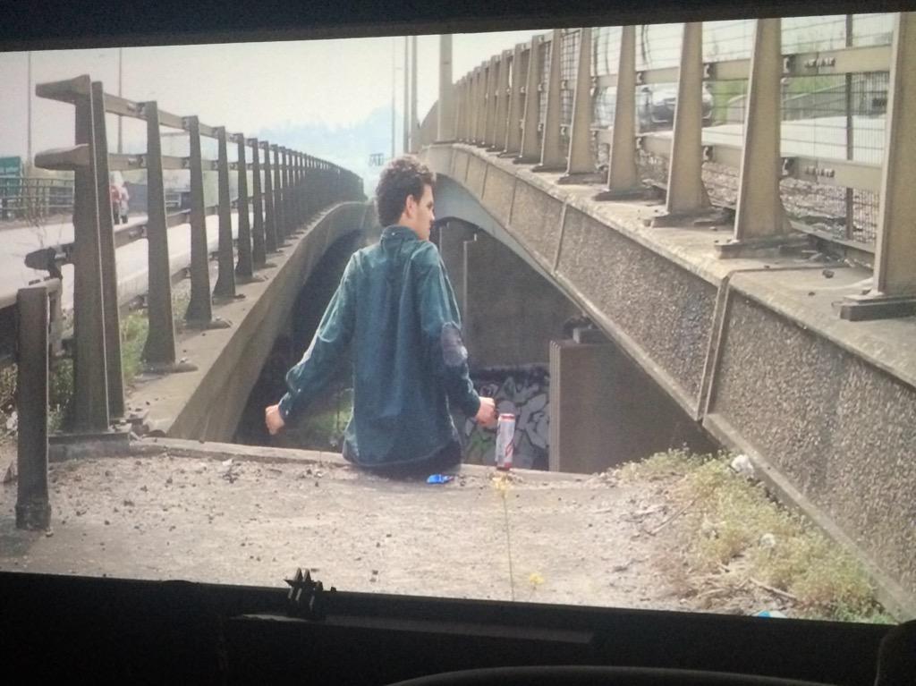 A few chuckles at the start of The Decline and Fall of Bartholomew Jones #FilmNorthants http://t.co/AiAPmQKMVz