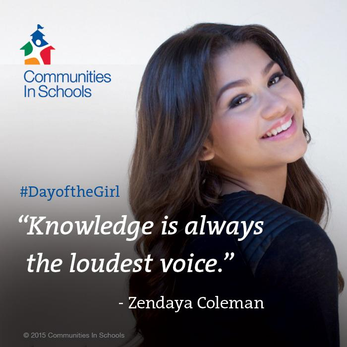 Education is a powerful force #DayOfTheGirl @Zendaya http://t.co/Mob4RgkYKH