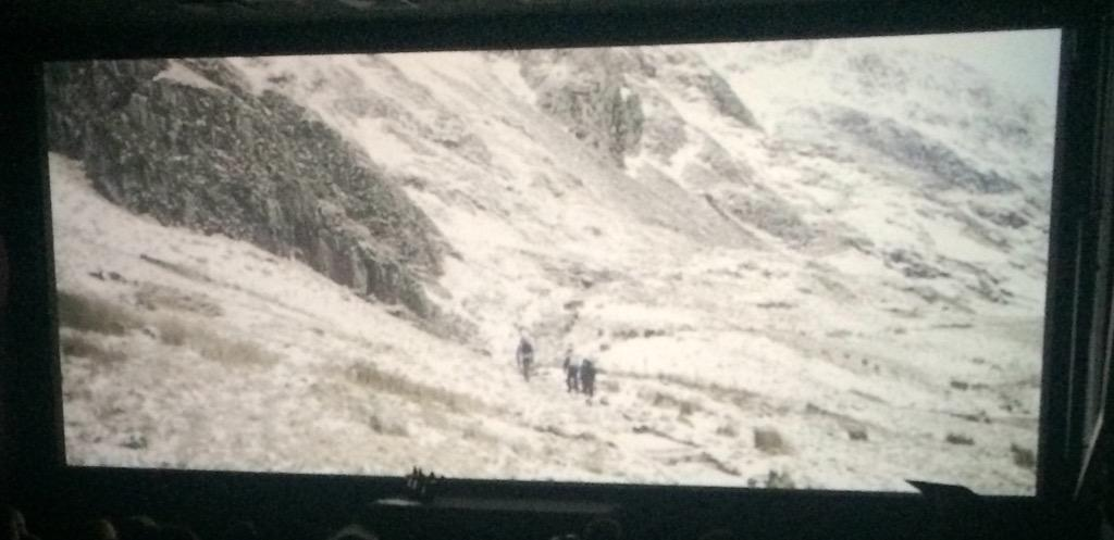 All eyes are locked on the big screen for The Wilderness is Awaiting by @DPlesca #FilmNorthants http://t.co/pWjA556Cwa