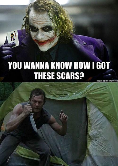 The Joker can't compete with Daryl #TWD