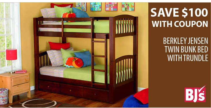 BJs Wholesale On Twitter Save 100 Our Berkley Jensen Twin BunkBed With Trundle W This Coupon Tco 1OmvV3qayz DWJNXLPOm8