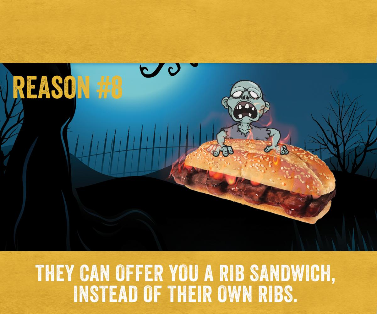 Watching TWD tonight? Here are the top 8 reasons go to ampm during the zombie apocalypse. #TheWalkingDead http://t.co/Z7oHiEj59q