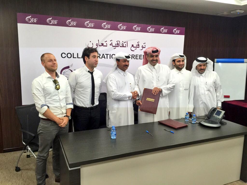 QBF, QF sign a collaboration agreement