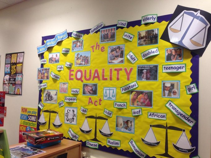 How do you deter children from extremism? At @ParkfieldSchool they teach them the equality act #r4today #prevent