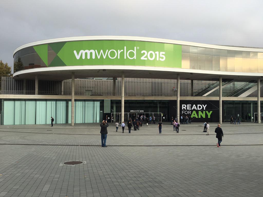 And so it begins... #VMworld. http://t.co/kd2ttUN4wB