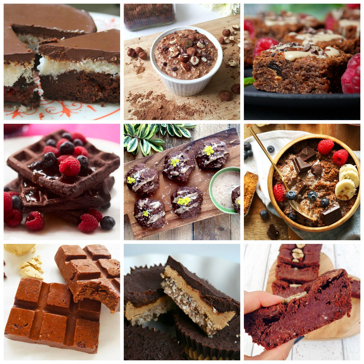 To celebrate #ChocolateWeek: My Top 10 #Healthy Chocolate Recipes (prepare to drool): http://t.co/yMleISbEeF http://t.co/eov5PemBro