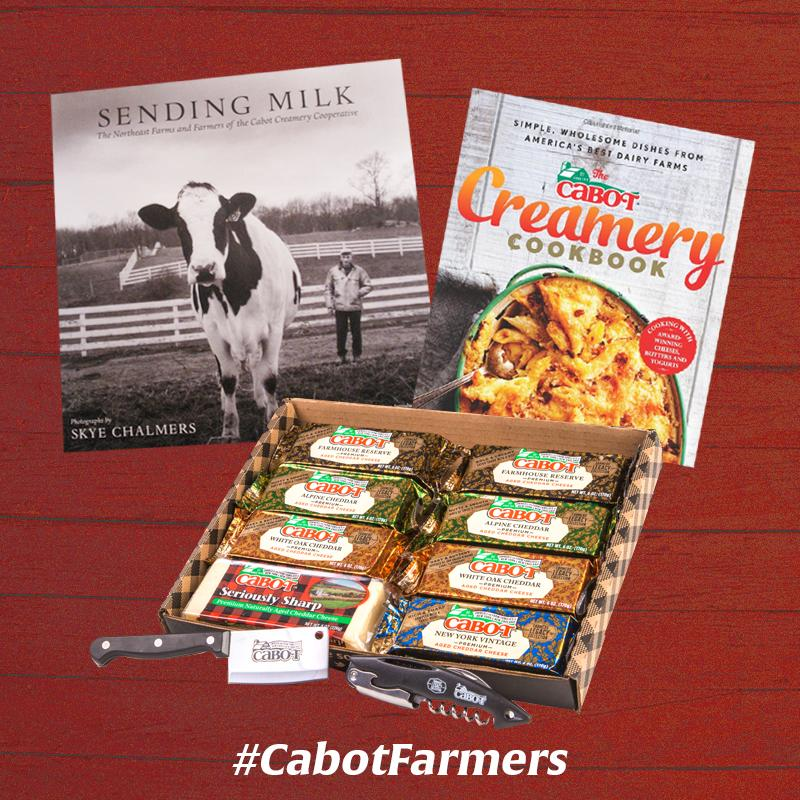 Happy National Farmers' Day! RT this post by 11:59pm 10/12, & you'll b entered 2 win a spcial Cabot gift #CabotFarmer http://t.co/VrArZDxRMJ