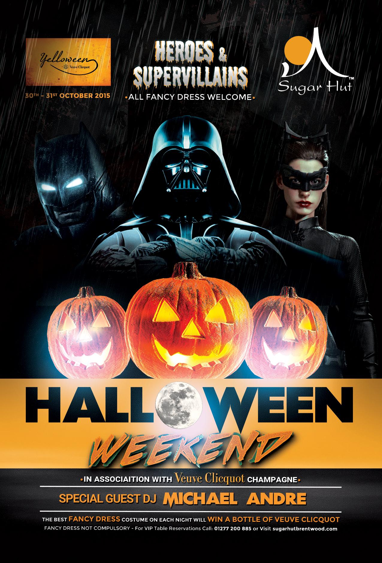 """RT @sugarhut: RT this tweet for a chance to *WIN* 4 peoples entry to @SugarHut """"#Yelloween Weekend"""" sponsored by @VeuveClicquotUK http://t.…"""