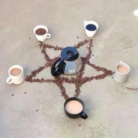 #mondaymotivation #Coffee #SPNFamily inspired. Conjur Coffee http://t.co/AuZEDS71kT