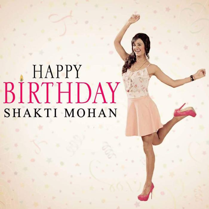 Dancer Shakti Mohan