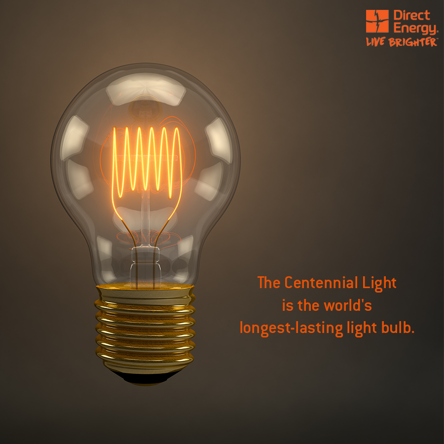 Direct Energy On Twitter Quot The Centennial Light Is The
