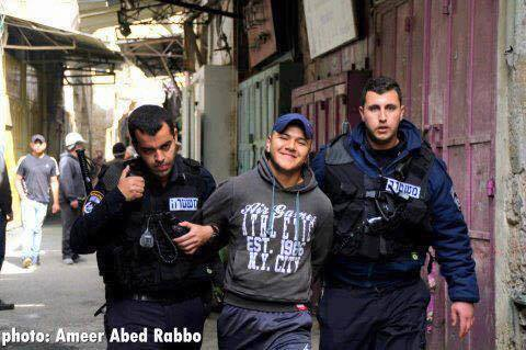 #newtactics New meme in Palestine, people are now smiling to the camera while getting harshly arrested http://t.co/ipPdjlbJCh