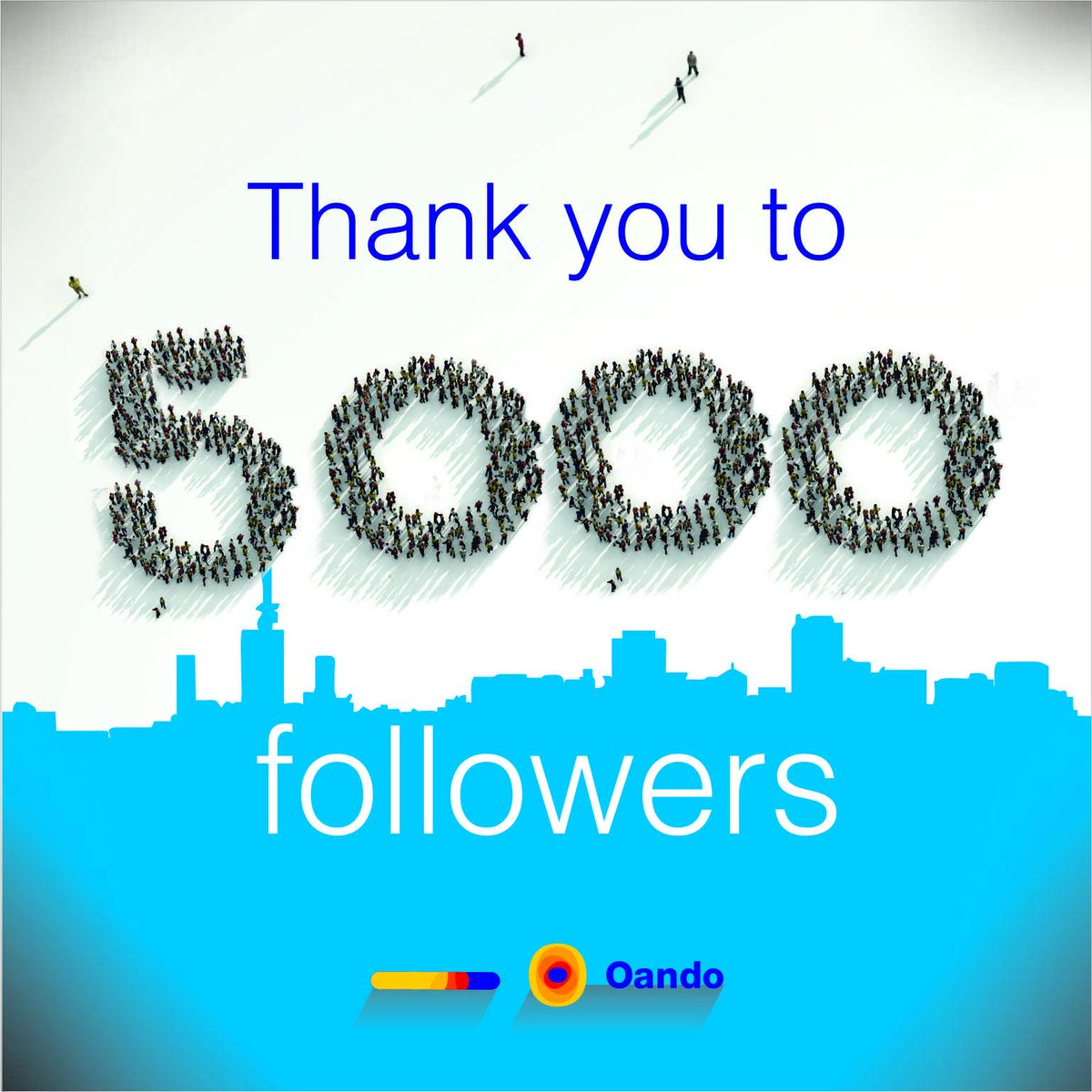 Twitter 5,000 followers pictures