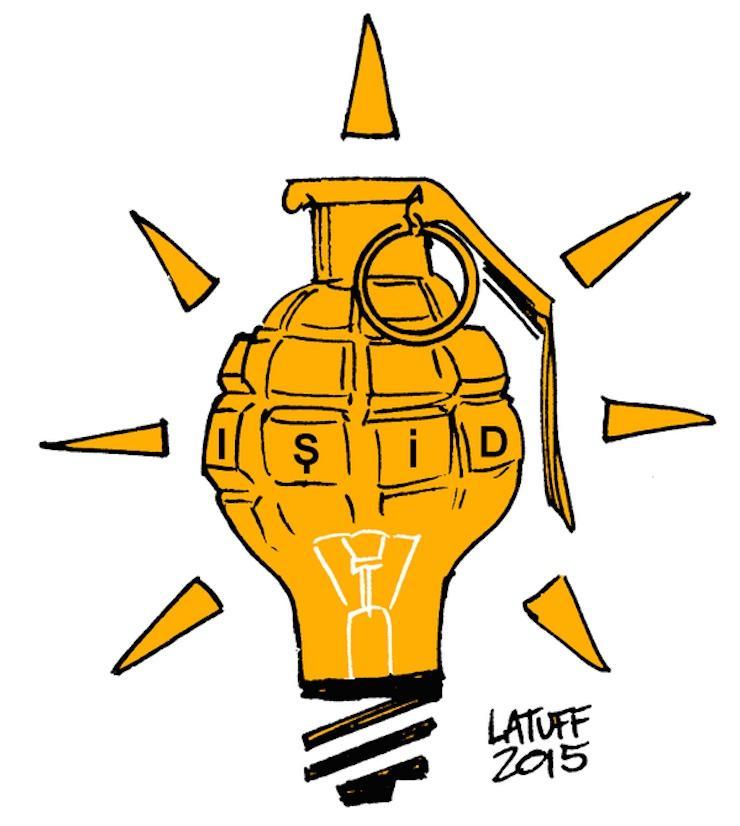 Brezilyalı karikatürist Carlos Latuff, Ankara Katliamı'nı böyle çizmiş. http://t.co/VJsnHUTxVA