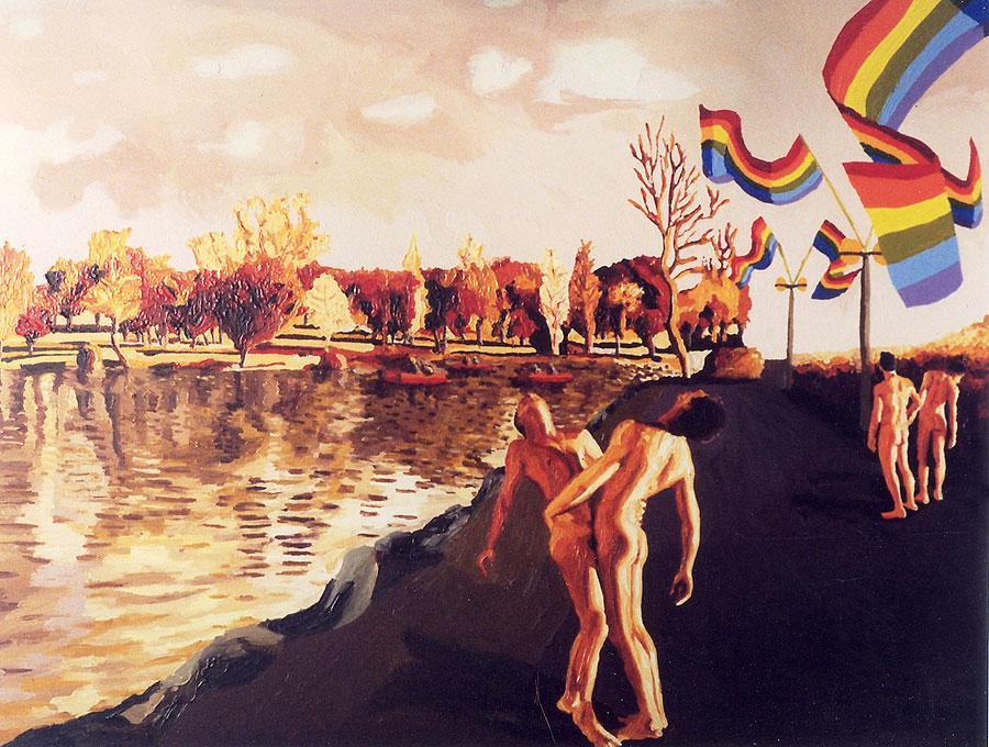 Lgbt Painter Queer Artists Men Love Homosexual Artist Clock By Raphaelperez